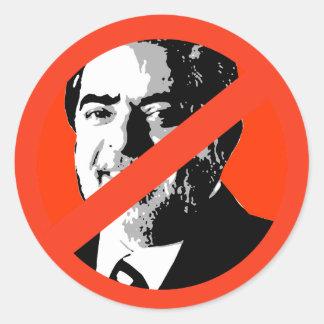 Luiz Inácio Lula da Silva Etiqueta Redonda