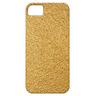 Lujo de oro funda para iPhone 5 barely there