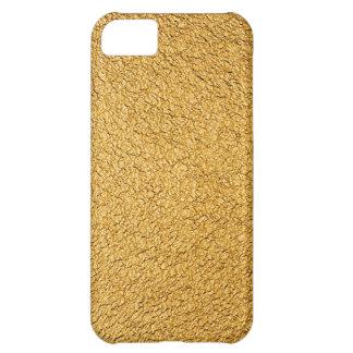 Lujo de oro funda para iPhone 5C
