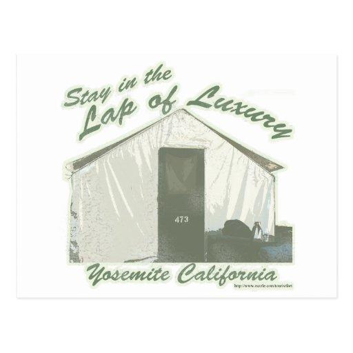 Lujo de Yosemite Tarjeta Postal
