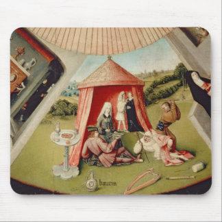 Lujo, detalle de la tabla de los siete tapete de raton