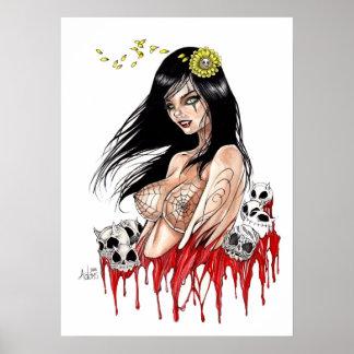 Lujuria del vampiro poster