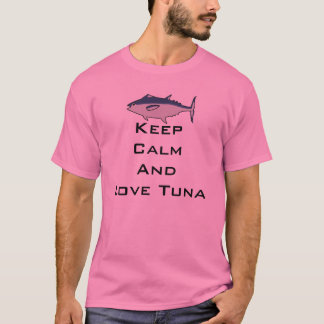 Luka Megurine Keep Calm Tuna Shirt