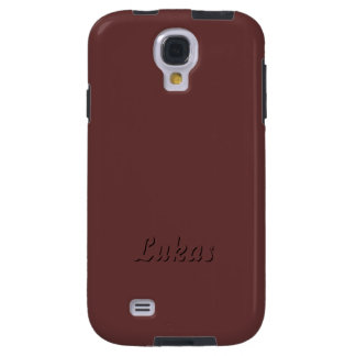 Lukas Brown Samsung galaxy s4 cover