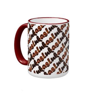 Lukas Brownish Style 15 oz Ringer Mug