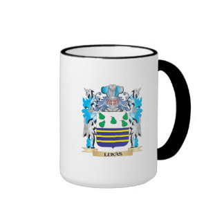 Lukas Coat of Arms - Family Crest Mugs