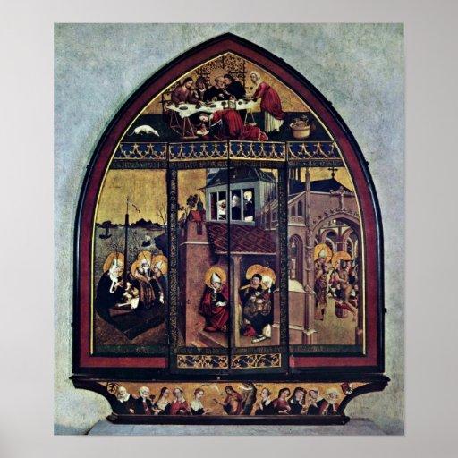 Lukas Moser - altar de Magdalena Posters