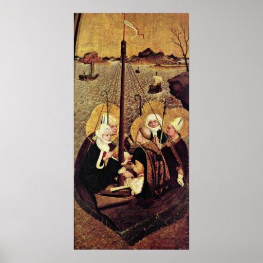 Lukas Moser - el viaje del mar del santo Póster