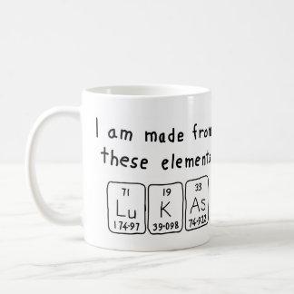 Lukas periodic table name mug