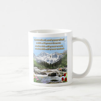 luke 10 17 christian mug