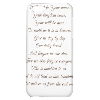Luke 11:2-4 Our Father.. iPhone 5C Covers