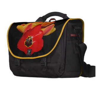 luke 12:27b and bright tulips bag for laptop