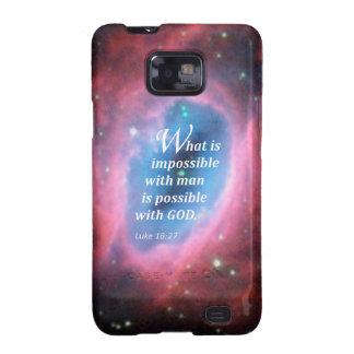 Luke 18 27 galaxy s2 covers
