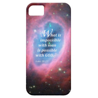 Luke 18 27 iPhone 5 cases