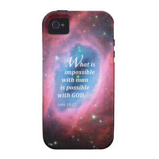 Luke 18 27 iPhone 4/4S covers