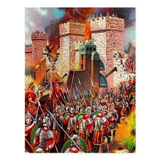Luke 19:41-44 Jerusalem Will Be Destroyed postcard