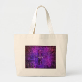 Luke 1:45  Blessed is she who believed Jumbo Tote Bag
