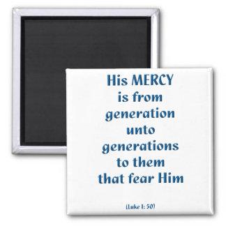 Luke 1: 50 magnet