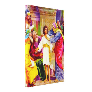 Luke 2:41-50 Jesus in His Father's House Canvas