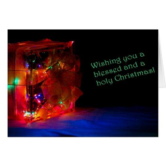 Luke 2: 9,10 Christmas Card
