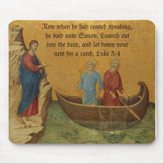 Luke 5:4 mouse pad