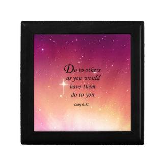 Luke 6:31 gift box