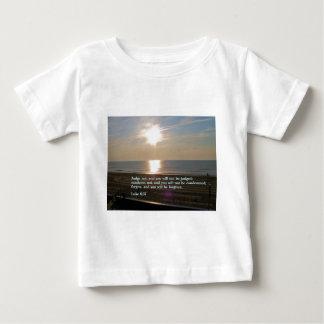 Luke 6:37  Sunrise Baby T-Shirt