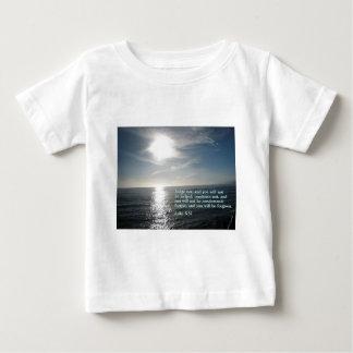Luke 6:37  Sunset Baby T-Shirt