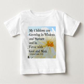 Luke Bible Verse My Children are growing in wisdom Shirt