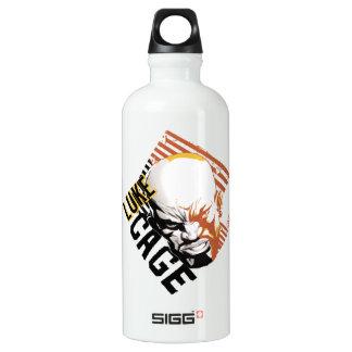 Luke Cage Badge Aluminum Water Bottle