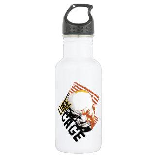 Luke Cage Badge Stainless Steel Water Bottle