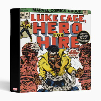 Luke Cage Comic #15 3 Ring Binder