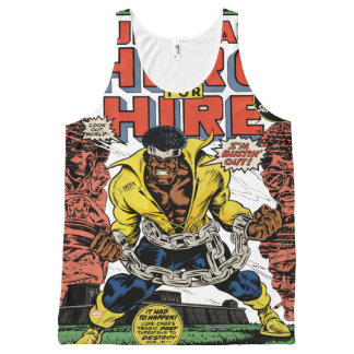Luke Cage Comic #15 All-Over-Print Tank Top