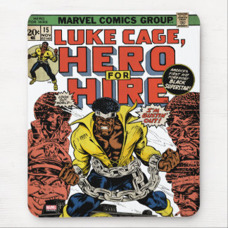 Luke Cage Comic #15 Mouse Pad