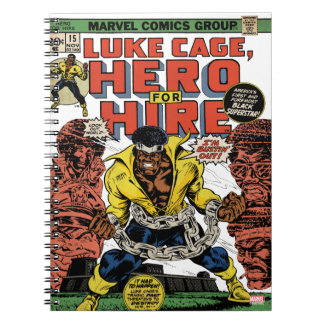 Luke Cage Comic #15 Notebook