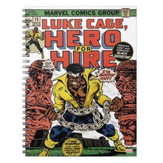Luke Cage Comic #15 Notebook