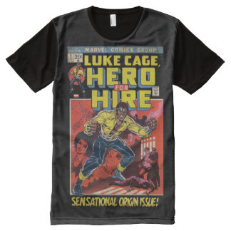 Luke Cage Comic #1 All-Over-Print T-Shirt