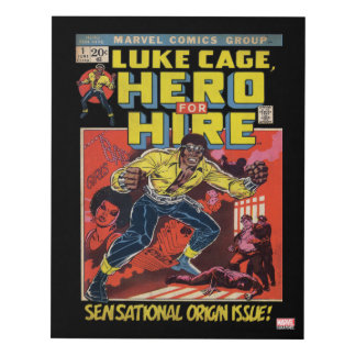 Luke Cage Comic #1 Panel Wall Art
