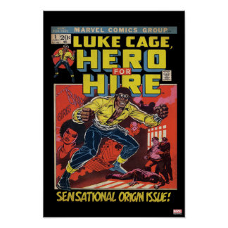 Luke Cage Comic #1 Poster