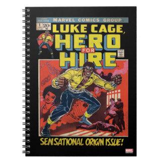 Luke Cage Comic #1 Spiral Notebook