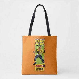 Luke Cage Comic Graphic Tote Bag