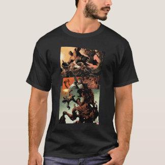 Luke Cage Fighting Aliens T-Shirt