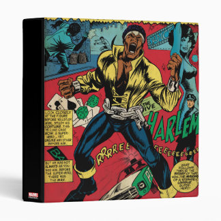 "Luke Cage ""Out Of Hell"" Binder"