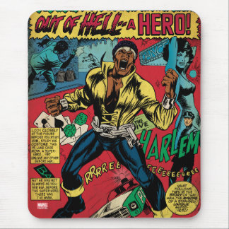 "Luke Cage ""Out Of Hell"" Mouse Pad"