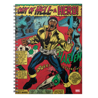 "Luke Cage ""Out Of Hell"" Notebook"