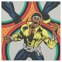 Luke Cage Retro Character Art Fabric