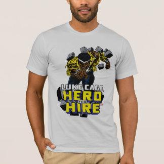 Luke Cage Smashing Through Bricks T-Shirt