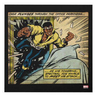 Luke Cage Vs. Specter Panel Wall Art