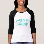 Luke Goss lady- teal T Shirts