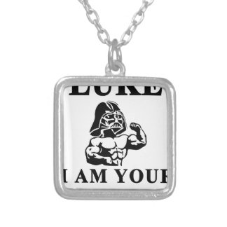 luke i am your STOPPER Silver Plated Necklace